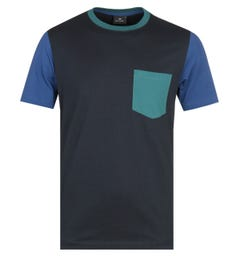 PS Paul Smith Navy T-Shirt