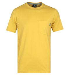 PS Paul Smith Short Sleeve Yellow T-Shirt