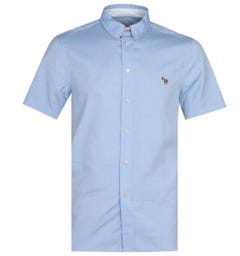 Paul Smith Tailored Blue Short Sleeve Shirt