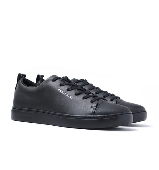 PS Paul Smith Lee Black Leather Trainers