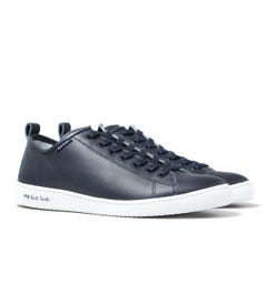 PS Paul Smith Miyata Dark Navy Leather Trainers