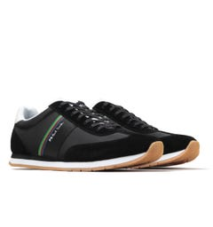 Paul Smith Prince Black Striped Trainers