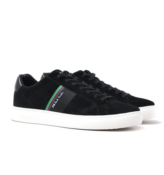 PS Paul Smith Rex Black Suede Leather Trainers