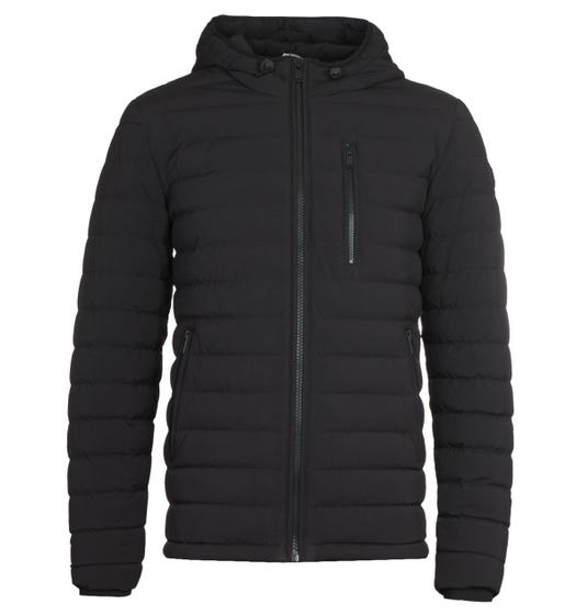 Moose Knuckles Black Crest Lightweight Jacket