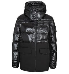 Moose Knuckles Black Duglad Jacket