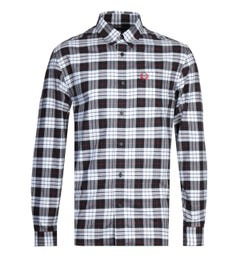 Fred Perry White Tartan Oxford Shirt