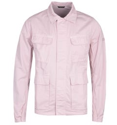 Barbour International Dion Casual Baby Pink Jacket