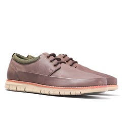 Barbour Horatio Brown Leather Shoes