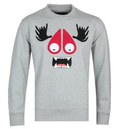 Moose Knuckles Charcoal Munster Sweatshirt