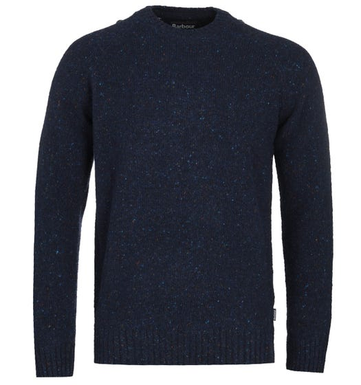 Barbour Netherton Blue Knitted Sweater