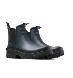 Barbour x Norse Projects Fury Navy Wellington Boots