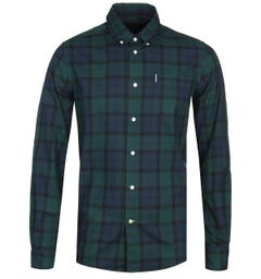 Barbour Wetheram Black Watch Tartan Shirt