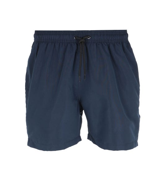 Barbour International Contrast Stripe Navy Swim Shorts