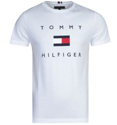Tommy Hilfiger Flag White T-Shirt
