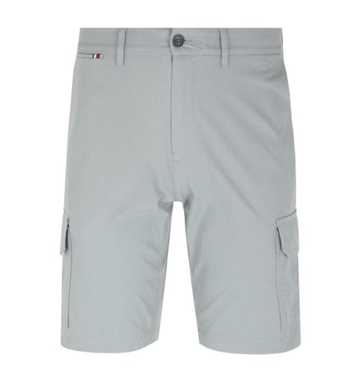 Tommy Hilfiger Tailored Grey Cargo Shorts