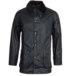Barbour Beaufort Black Navy Jacket