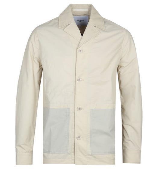 Norse Projects Mads Oatmeal Overshirt