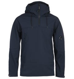 CP Company Soft Shell Dark Navy Smock