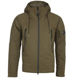 CP Company Pro-Tek Green Hooded Jacket