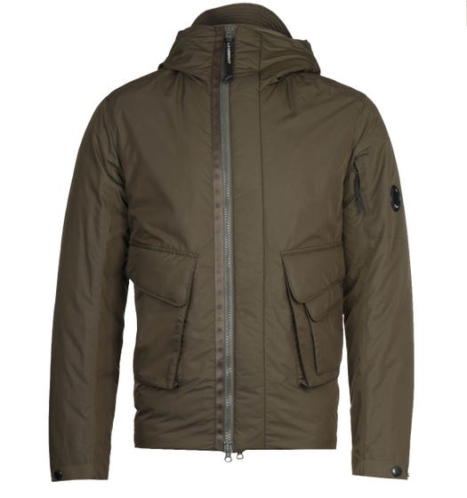 CP Company Green Micro M Jacket