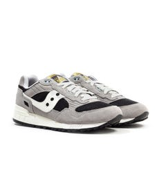 Saucony Shadow 5000 Grey & Black Suede Trainers
