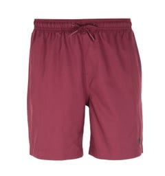 Fred Perry Textured Burgundy Swim Short