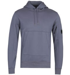 CP Company Classic Sleeve Lens Blue Pullover Hoodie