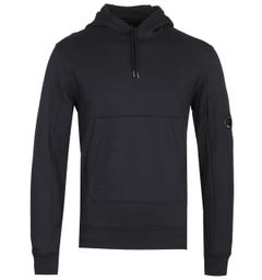 CP Company Classic Sleeve Lens Black Pullover Hoodie