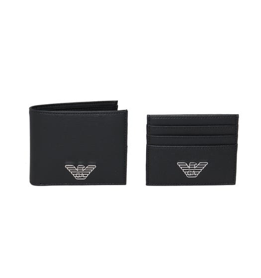 Emporio Armani Black Wallet Gift Set