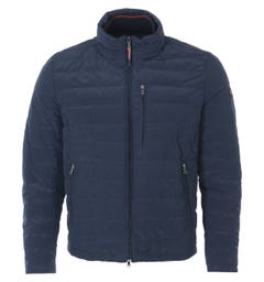Paul & Shark 130 High Density Save the Sea Quilted Jacket - Blue