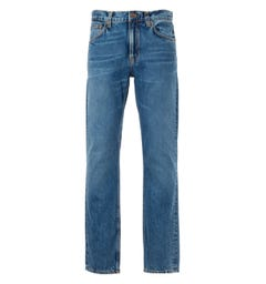 Nudie Jeans Co Gritty Jackson Regular Fit Jeans - Far Out Blue