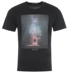 Nudie Jeans Co Roy Enter Infinity T-Shirt - Black