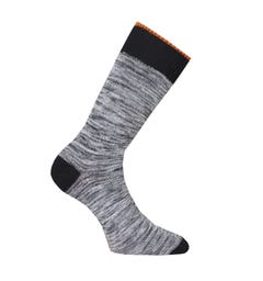 Nudie Jeans Co Rasmusson Organic Multi Yarn Socks - Black