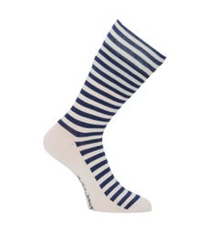 Nudie Jeans Co Olsson Organic Cotton Socks - Breton Stripes