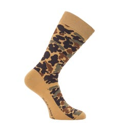 Nudie Jeans Co Olsson Organic Cotton Socks - Camo