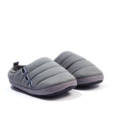 Puma Scuff Quilted Fleece Lined Slippers - Grey