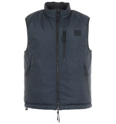 BOSS Cusare Reversible Padded Gilet - Navy