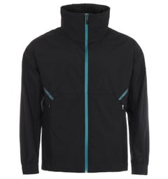 BOSS Carbon Tape Relaxed Fit Water Repellent Jacket - Black
