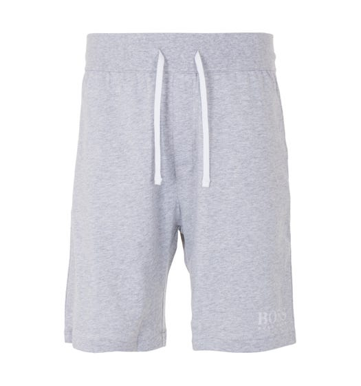 BOSS Bodywear Authentic Sustainable French Terry Shorts - Light Grey Marl