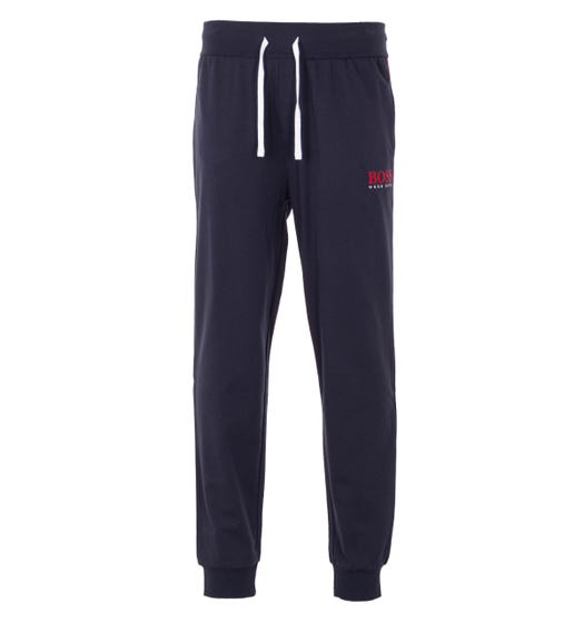 BOSS Bodywear Authentic Sustainable French Terry Joggers - Navy