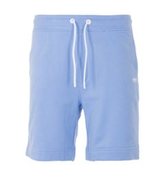 BOSS Logo Sustainable French Terry Shorts - Pale Blue