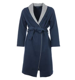 BOSS Bodywear Limited Quilted Robe - Navy