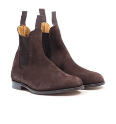 Trickers Gigio Reverse Suede Chelsea Boot - Coffee Ox