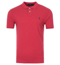 Polo Ralph Lauren Classic Slim Fit Polo Shirt - Red