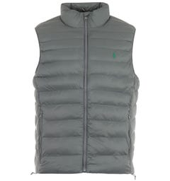 Polo Ralph Lauren Sustainable Packable Gilet - Charcoal