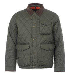 Polo Ralph Lauren Sustainable Water Repellent Quilted Jacket - Olive