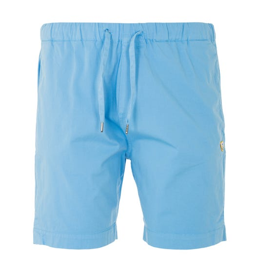 Armor Lux Heritage Drawstring Shorts - Light Blue