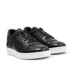 Polo Ralph Lauren Court Leather Trainers - Black