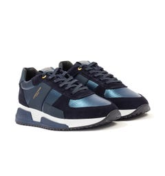 Android Homme Matador Kevlar Suede Trainers - Navy