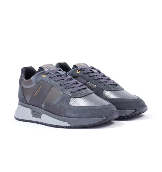 Android Homme Matador Kevlar Suede Trainers - Grey